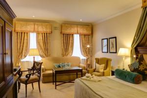 Guest room at Keadeen Hotel.