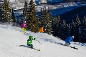 Skiing at Lodge At Avon Center.