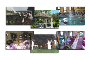 Weddings at Acra Manor Resort.
