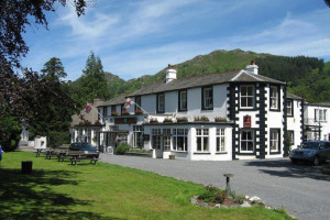 Exterior view of Scafell Hotel.