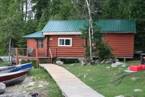 Cabin at Pipestone Lodge.