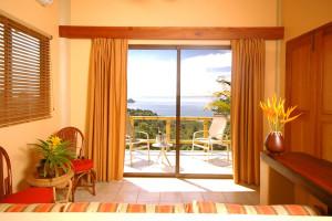 Guest room at Si Como No Hotels and Villas.