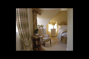 Guest suite at Minmore House Hotel.