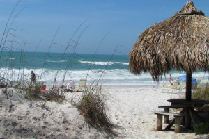 The beach at Anna Maria Island Inn.