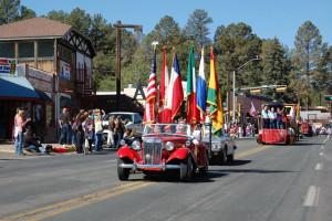 Local parade at The Casas of 4 Seasons.