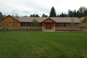 Exterior view of River Canyon Retreat.