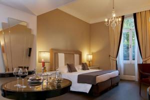 Guest room at Hotel Regency.