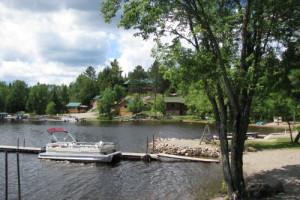 Lake Dock at White Iron Beach Resort