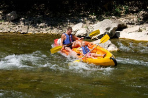 Water activities at Canyon of the Eagles.