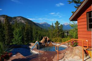 Outdoor pools at Hidden Ridge Resort.