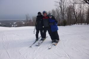 Skiing at Solbakken Resort.