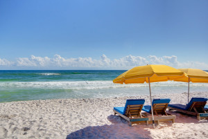 Vacation at the beach with Pointe South Vacation Rentals.