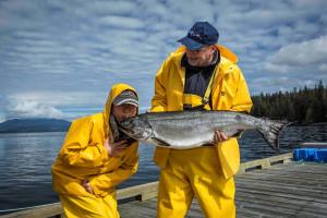 Fishing at April Point Lodge and Fishing Resort.