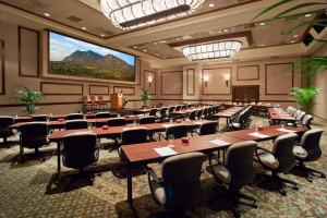 Conference in the Centennial Ballroom at Cheyenne Mountain Resort.