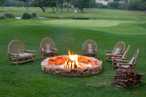 Fire Pit at The Resort at Tapatio Springs