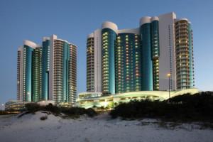 Rental exterior view of Gulf Beach Rentals.