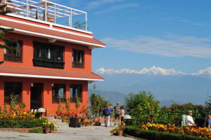 Exterior view of Dhulikhel Lodge Resort.