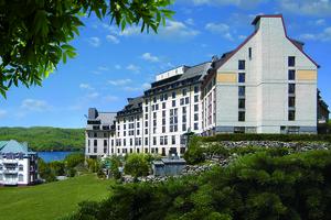 Exterior view of Fairmont Tremblant Resort.