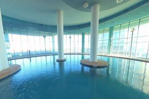 Rental pool at Gulf Beach Rentals.