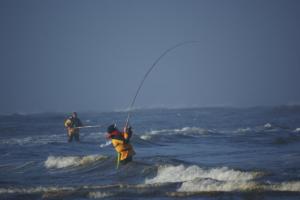 Fishing at Hi-Tide Ocean Beach Resort.