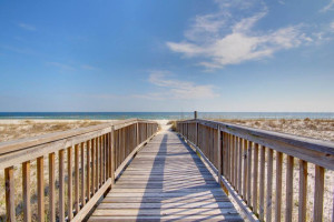 Beach boardwalk at Perdido Key Resort Management.