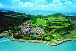 Aerial view of Westin Resort Macau.