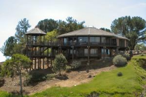 Visitor center at Lake Don Pedro.