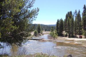 River view around Elk City Hotel.