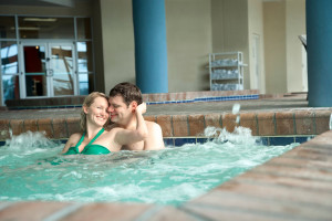 Hot tub at Bay View Resort.