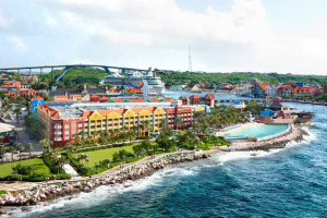 Exterior view of Renaissance Curacao Resort & Casino.