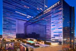 Exterior view of JW Marriott LA Live.