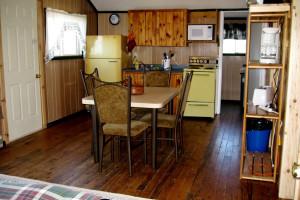 Cabin Interior at Brennan Harbour Resort
