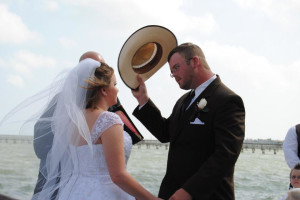 Wedding at The Lighthouse Inn at Aransas Bay.