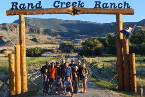 Family at Rand Creek Ranch.