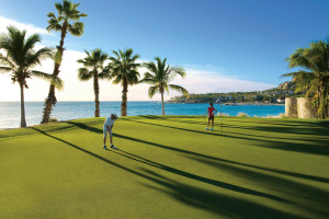 Golf course at  Los Cabos Resort.