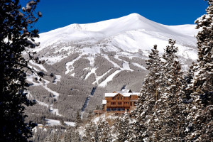 Exterior view of The Lodge at Breckenridge.