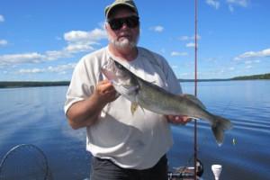 Fishing at Gold Pines Camp