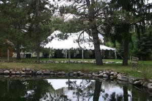 Wedding venue at White Birch Village Resort.