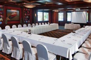 Conference room at Mill Falls at the Lake.