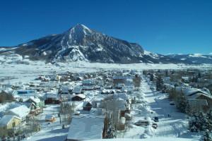 Crested Butte Colorado near The Nordic Inn.