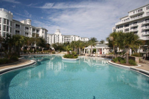 Vacation rental pool at Crye-Leike Coastal Realty Vacation Rentals.