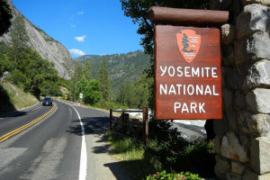 Yosemite National Park near Greenhorn Creek Resort.