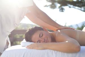 Back massage at Topnotch Resort.