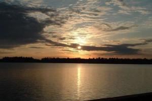 Lake view at Northland Resort.