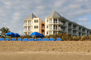 Exterior view of Hutchinson Island Marriott Beach Resort and Marina.