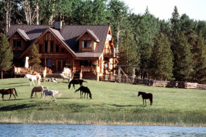Exterior View of Siwash Lake Ranch
