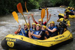 River rafting at American Patriot Getaways, LLC.