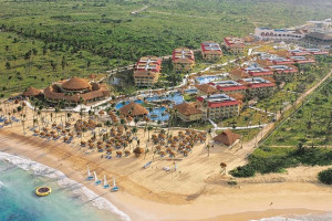 Aerial view of Dreams Punta Cana Resort & Spa.