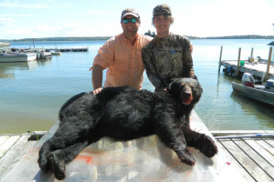 Hunting at Ballard's Black Island.