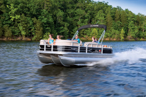Pontoon Boating at Big Cedar Lodge